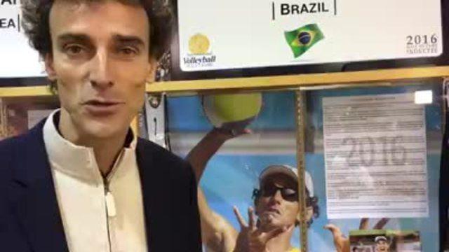 Emanuel fala sobre a emoção de entrar no hall da fama do vôlei