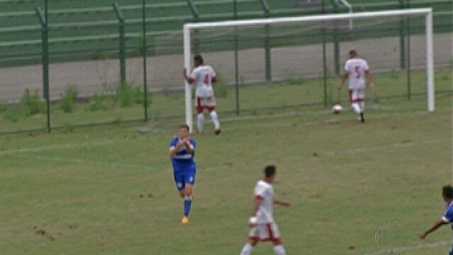 União Mogi perde e está fora da segunda divisão do Paulista Sub-20