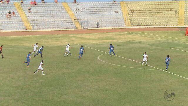 São Carlos e Rio Claro empatam no Luisão no jogo de ida das quartas de final da Copa Paulista