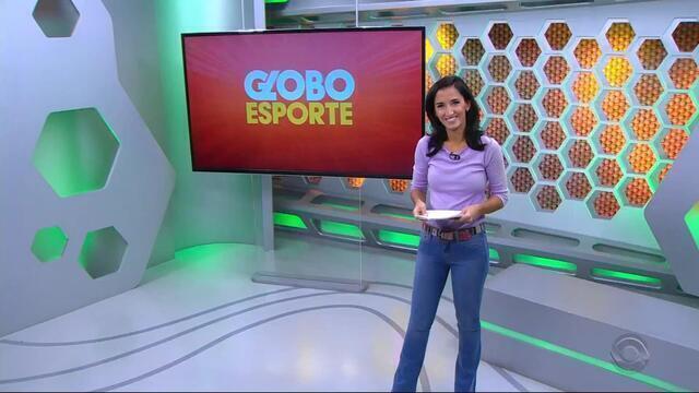 Globo Esporte RS - Bloco 1 - 25/10