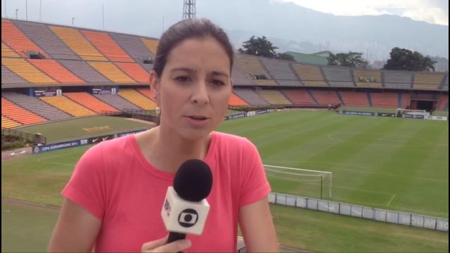 Nadja Mauad traz informações direto da Colômbia para o GloboEsporte.com