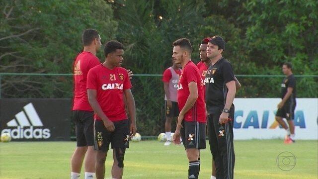 Ante Ponte Preta, elenco do Sport vai rever Eduardo Baptista e ex-colegas de time