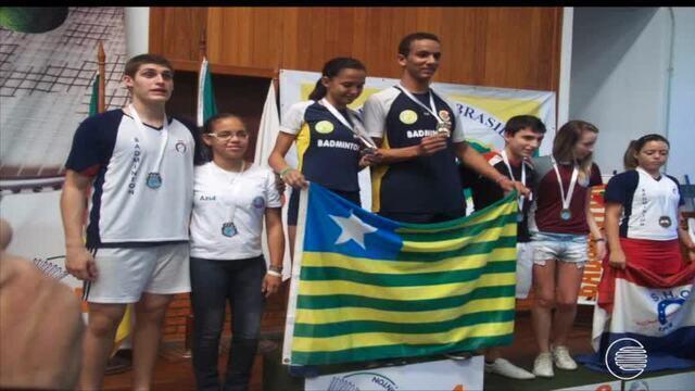 Dupla de badminton do Piauí quer garantir o ouro nos Jogos Escolares