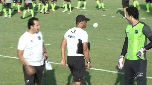 Sérgio Soares segue com mistério antes de jogo com o Bahia