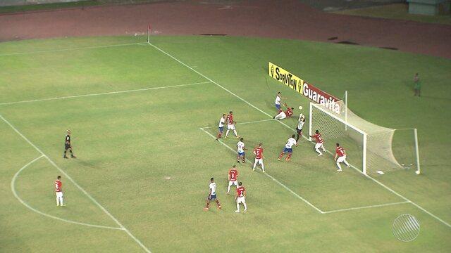 Bahia empata com o Internacional pelas  quartas de finais da Copa do Brasil Sub-20
