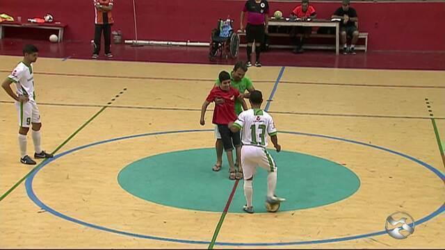 11ª Copa TV AB de Futsal fecha a rodada  com um empate e duas derrotas