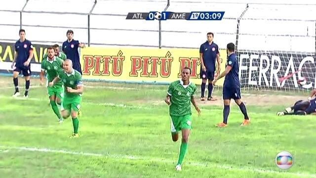 Veja os gols de Atlético-PE 0 a 2 América-PE pelo Campeonato Pernambucano 2017