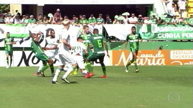Melhores momentos: Chapecoense 2 x 2 Palmeiras em amistoso de futebol