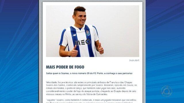 Porto anuncia a contratação do atacante Soares