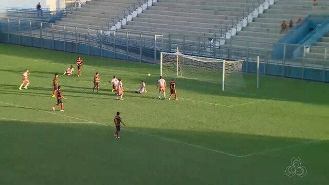 Holanda-AM goleia o Tarumã por 4 a 1, pela Série B do Amazonense