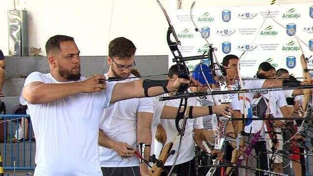 Primeira etapa do Campeonato Sergipano de tiro com arco acontece em Aracaju