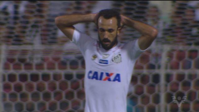 Santos e Ituano ficam no empate sem gols