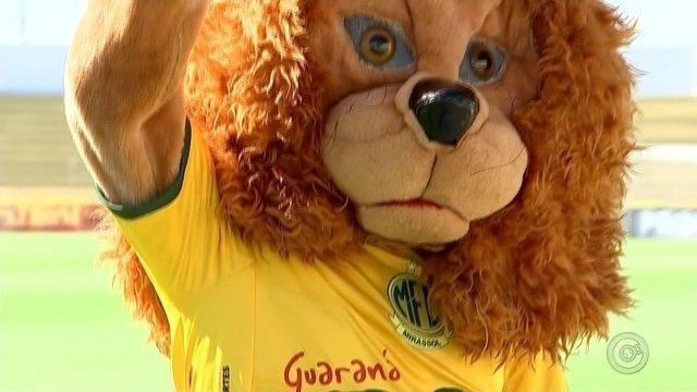 Mascote Leão do Mirassol é um dos destaques do time no Paulistão