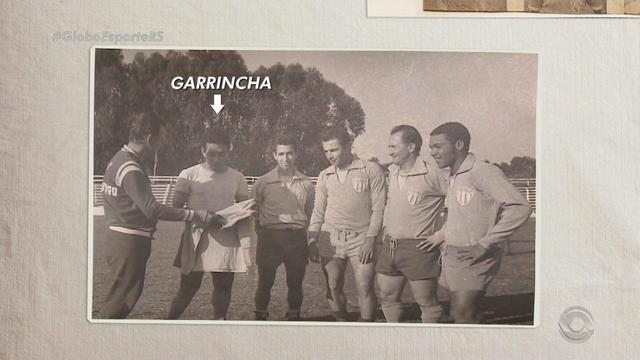Ídolo nacional, Garrincha já vestiu a camisa do Nóia