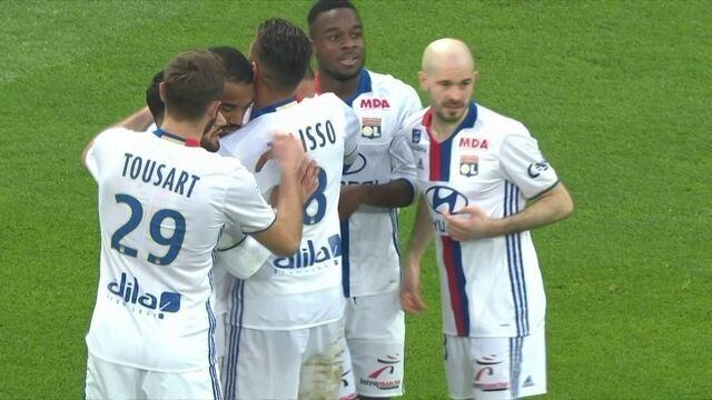 Os gols de Lyon 5 x 0 Metz pela 27ª rodada do Campeonato Francês