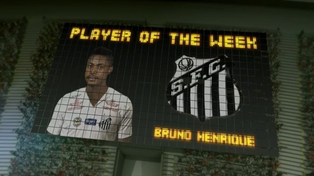 BLOG: Pelo hat-trick contra o São Bernardo, Bruno Henrique é o player of the week
