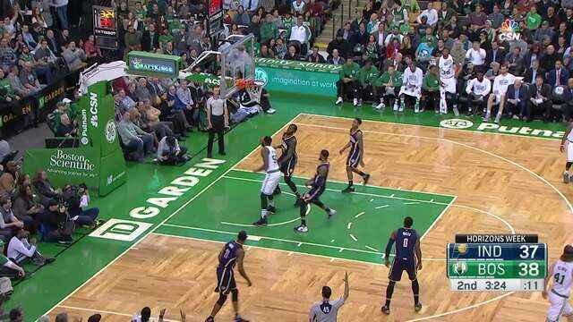 Melhores momentos: Boston Celtics 109 x 100 Indiana Pacers pela NBA