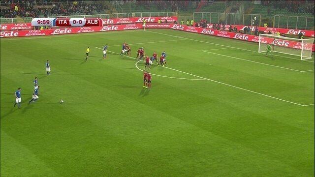Melhores momentos: Itália 2 x 0 Albânia pelas Eliminatórias da Europa para a Copa do Mundo