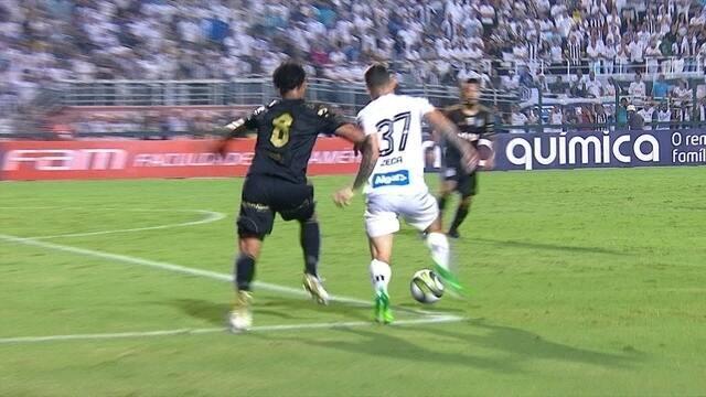 Melhores Momentos: Santos (4) 1 x 0 (5) Ponte Preta pelas quartas de final do Paulista