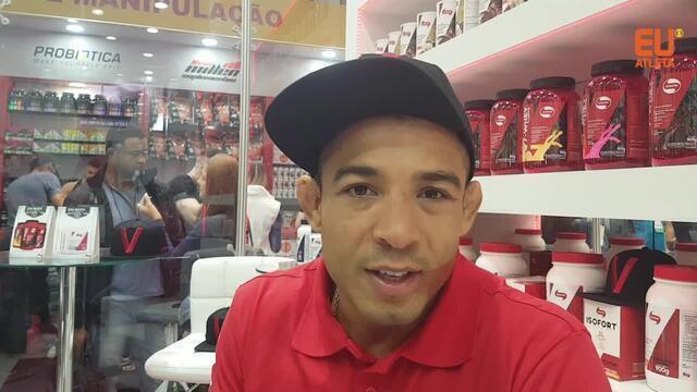 José Aldo marca presença no Arnold Classic e manda recado para o Eu Atleta