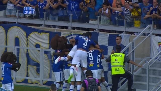 Veja os gols da vitória do Cruzeiro sobre o América-MG