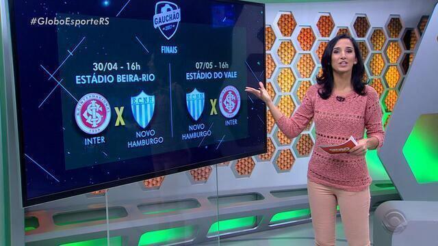 Confira a íntegra do Globo Esporte RS desta segunda-feira (24)