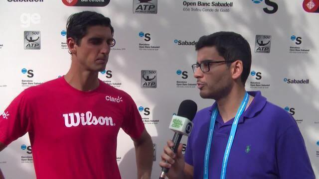 Thomaz Bellucci comenta derrota na estréia do ATP 500 de Barcelona