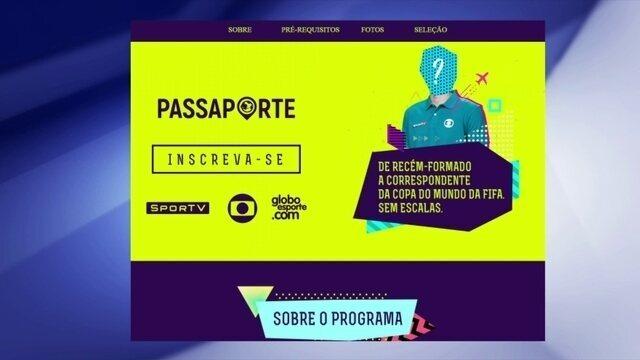 """Inscrições abertas para o projeto """"Passaporte"""""""
