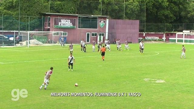 Melhores momentos de Fluminense 0 x 1 Vasco pela final da Taça Guanabara sub-20