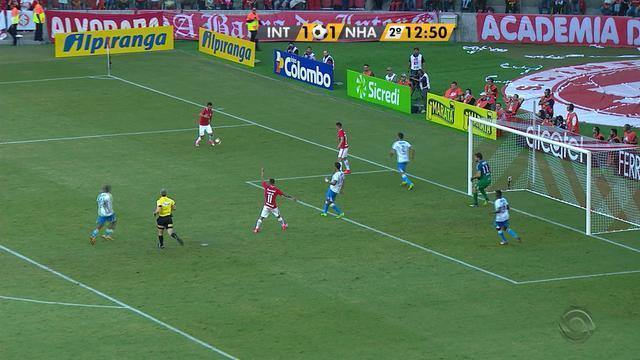 Confira os melhores momentos de Inter 2 x 2 Novo Hamburgo