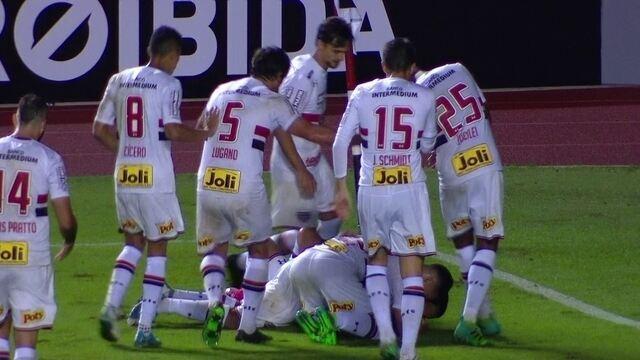Os gols de São Paulo 2 x 0 Avaí pela 2º rodada do Campeonato Brasileiro