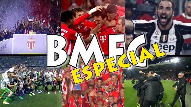 BMFC especial resume os principais campeonatos europeus