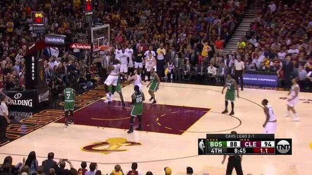 Top 5: Confira as melhores jogadas na partida entre Boston Celtics e Cleveland Cavaliers