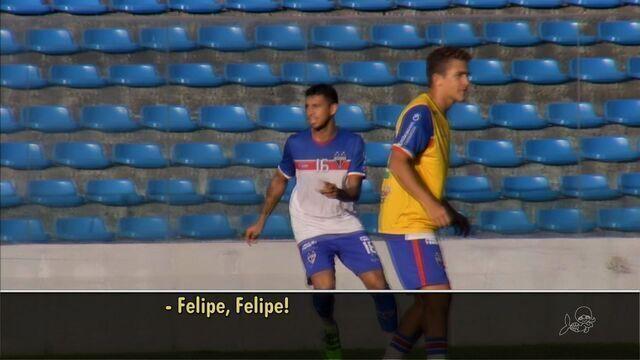 Você sabe como se chama mesmo o Felipe, do Fortaleza?