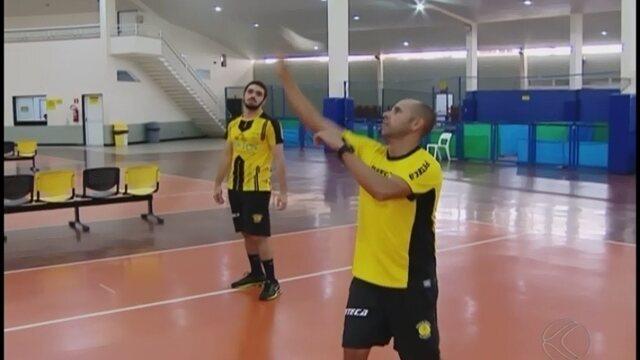 Três duplas de peteca do Praia Clube são convocadas para disputa da Liga Brasileira