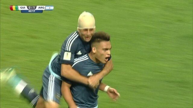 Os gols de Guiné 0 5 Argentina pelo Mundial sub-20