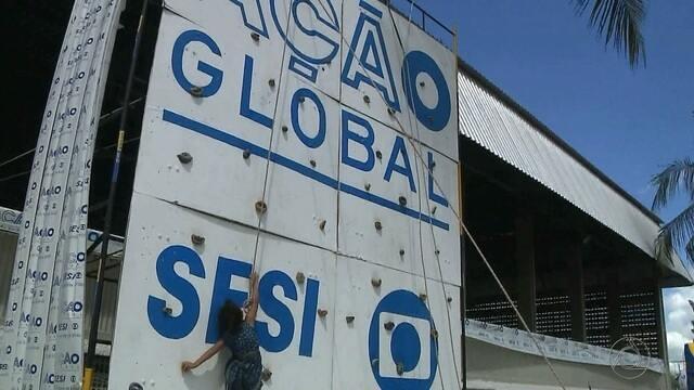 Ação Global também tem programação esportiva em João Pessoa
