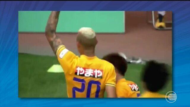 Piauiense Crislan faz golaço em campeonato japonês