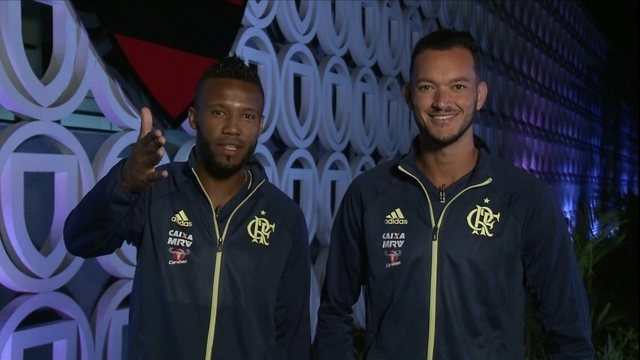 Réver e Rafael Vaz, do Flamengo, mandam recado para Muricy Ramalho