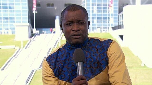 Jornalista camaronês admite  preocupação com racismo na Rússia