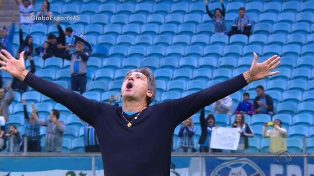 """Teses do """"pai Pep"""": Grêmio busca manter regularidade no Brasileirão"""