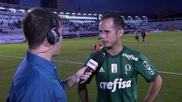 Guerra comemora atuação e dois gols na vitória contra a Ponte Preta