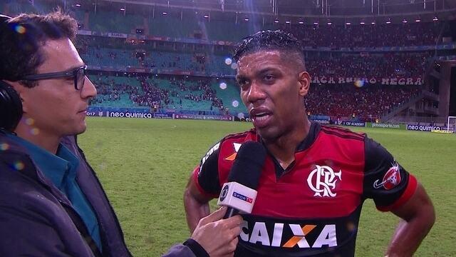 """Berrío fala sobre importância de gol marcado: """"Me dá muita confiança"""""""