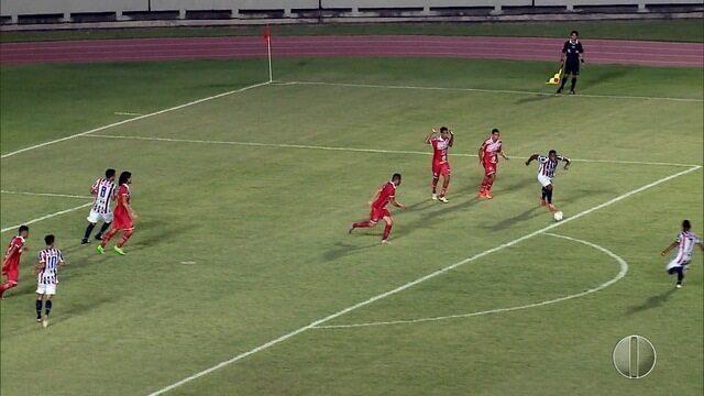 Potiguar de Mossoró perde para o Maranhão por 3 a 0 e se despede da Série D sem vitória