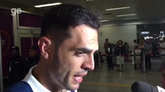 Rhodolfo avalia atuação contra o Bahia e fala de entrosamento com o elenco