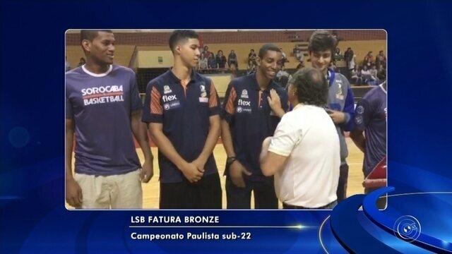 Liga Sorocabana de Basquete (LSB) conquista o 3° lugar no Paulista sub-22 da categoria