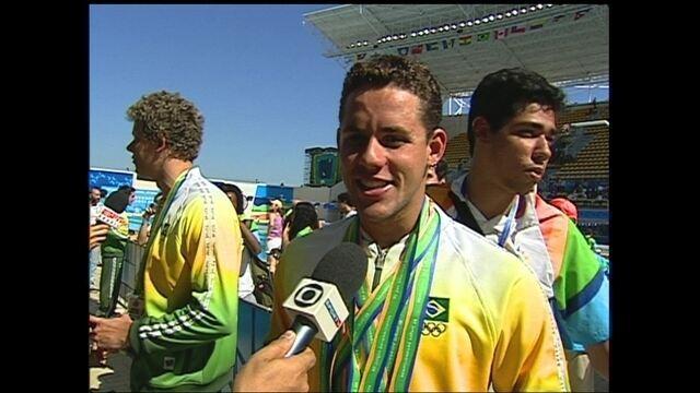Thiago Pereira conquista oito medalhas no Pan do Rio em 2007