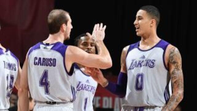 Melhores momentos: Los Angeles Lakers 110 x 98 Portland Trail Blazers pela Liga de Verão