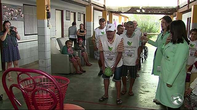 Casa dos Pobres realiza 1ª Olimpíada dos Idosos em Caruaru
