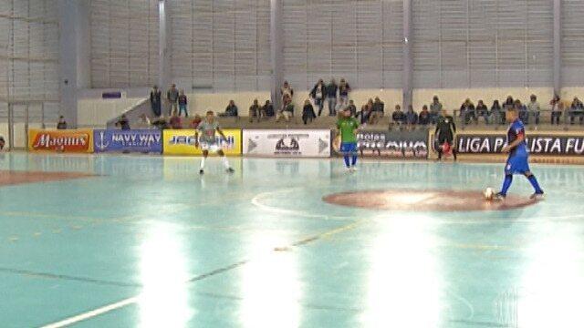 Mogi Futsal fica no empate com a AABB e se complica na Liga Paulista